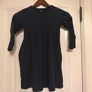 LAND'S END polka dot dress